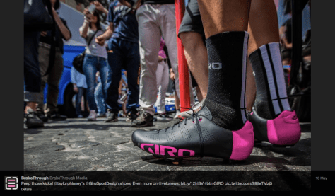 G Phinney pink shoes