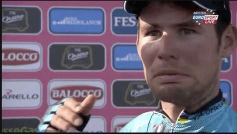 Cavendish Stage 1 Giro