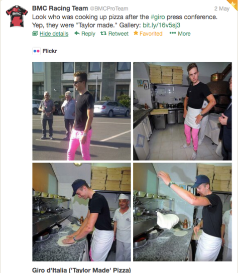 Taylor pizza