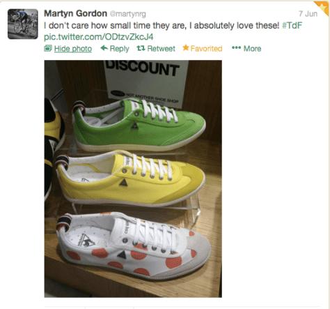 Tour tennis shoes