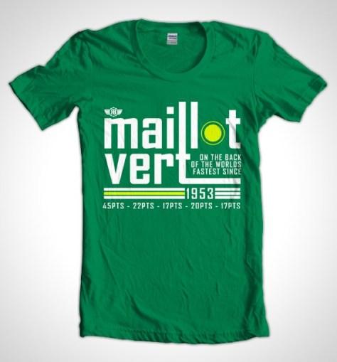 Maillot_Vert_Speedy_Green_Cycling_T-Shirt