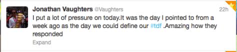 St9 Vaughters pressure