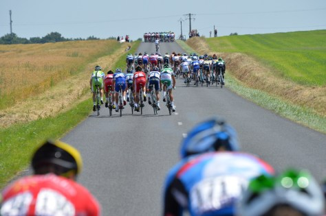 Once the bunch is split, it is difficult to bring the groups back together (Image: Presse Sports/ASO)