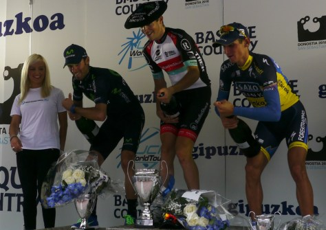 The podium (image: Richard Whatley)