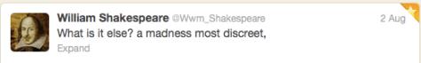 Last Word shakespeare