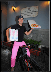 Taylor Phinney pink jeans