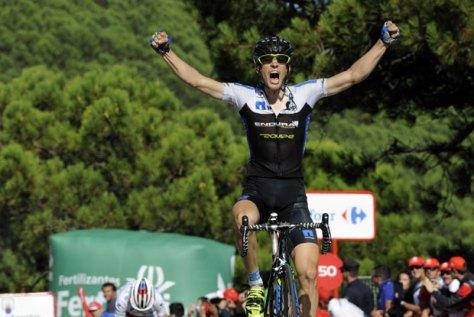 Konig left a positive impression on all of us (Image: Vuelta website)