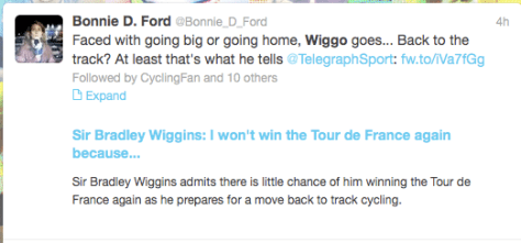 Wiggins goes home