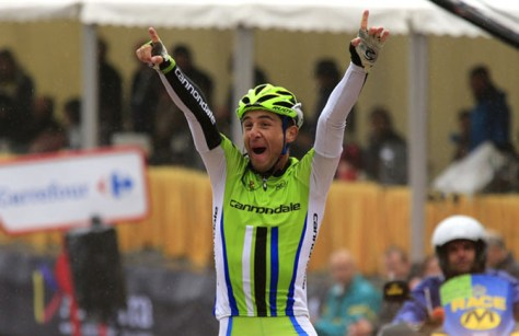 Sheer delight for Ratto (Image: Vuelta website)