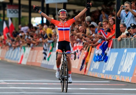 Two in a row for Vos, and three in total (Image: Toscana 2013)