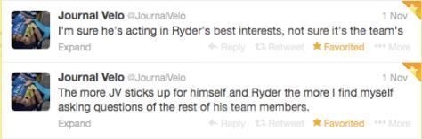 Ryder JV sticking up 1