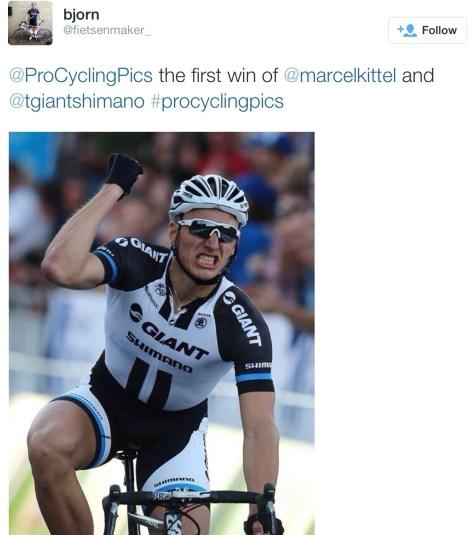 Kittel win Crit