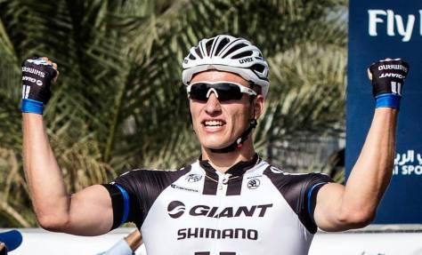 Giant in name, giant in talent - Kittel dominates (Image: Dubai Tour)