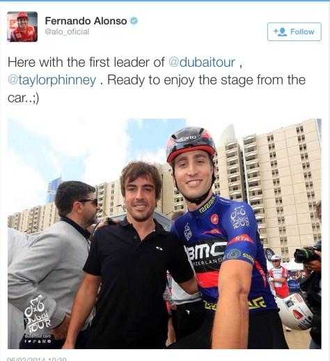 Alonso Dubai 4 Phinney