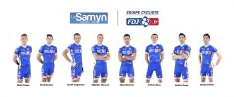 Team for Le Samyn (image: FDJ)