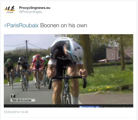 PR during Boonen pic