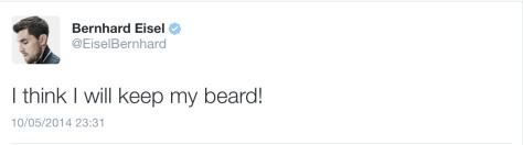 G Bernie beard