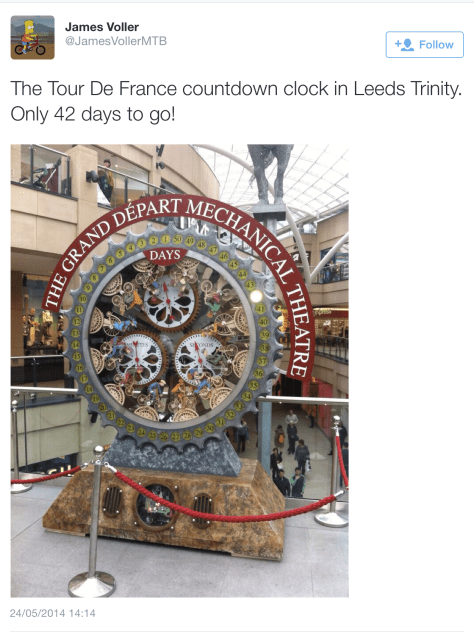 G TdF countdown clock