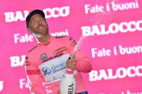 Let the birthday celebrations begin! (Image: Giro d'Italia)