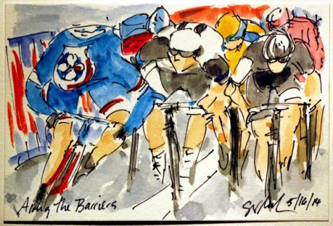 Nacer's first grand tour victory (image: Greig Leach)