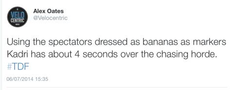 G spectators banana