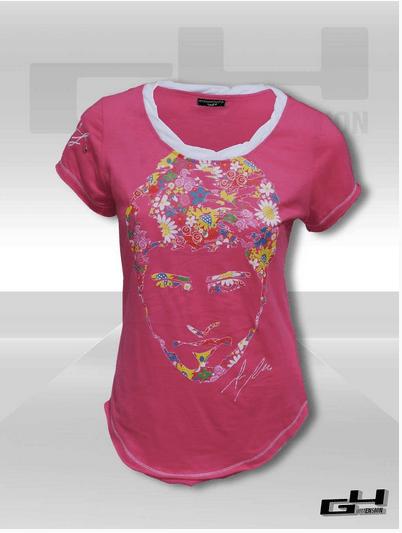 Peter's Flowers teeshirt women's