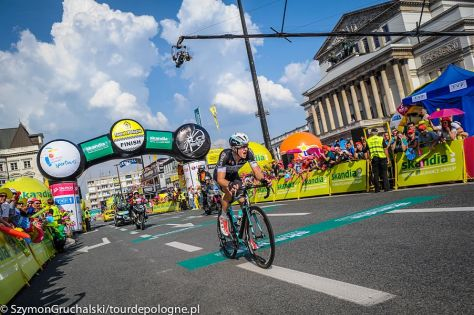 Petr Vakoc takes stage two and the yellow jersey (Image: Szymon Gruchalski)