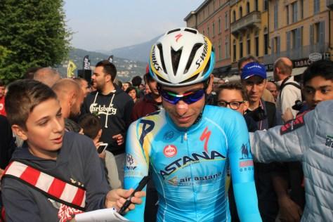 Fabio Aru (Astana) was much in demand (image: Flaviano Ossola)