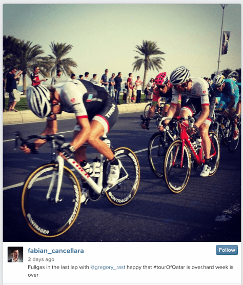 Qatar Fabs lead out