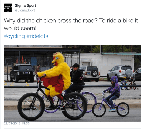 G chicken bike