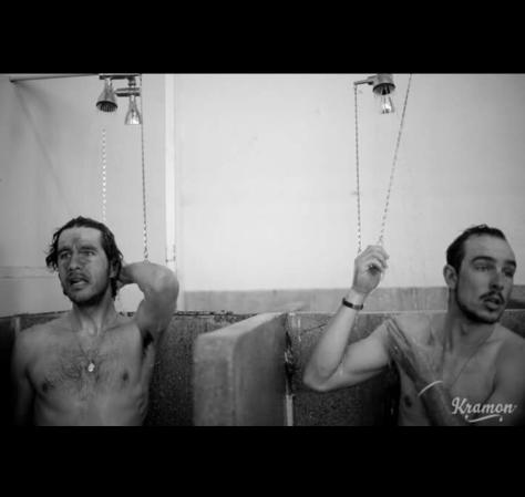 Degs shower 1