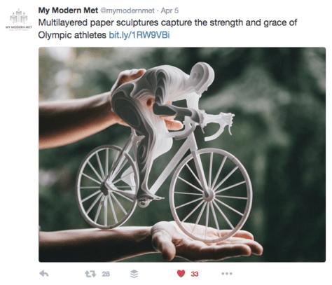 G paper bike