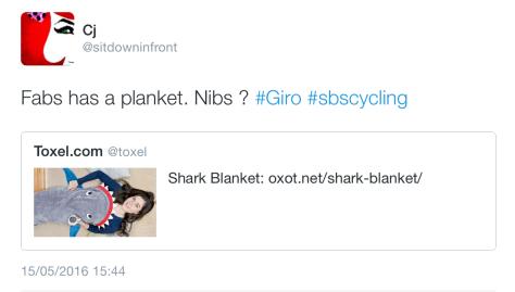 Giro Shark blanket