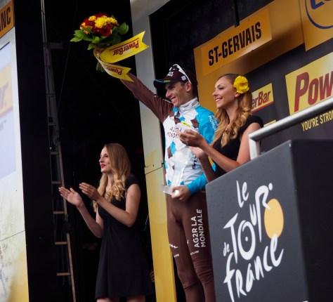 Romain Bardet, winner Tour de France stage 20