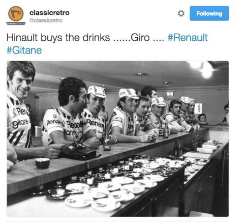 G Giro drinks