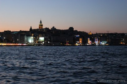 Wieczorne spojrzenie na Beyoglu