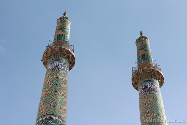 Minarety meczetu piątkowego, Jazd