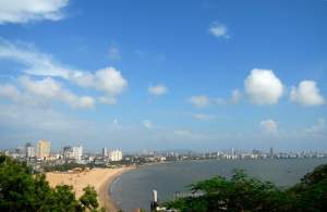 Mumbai Skyline, bron: Happytrips