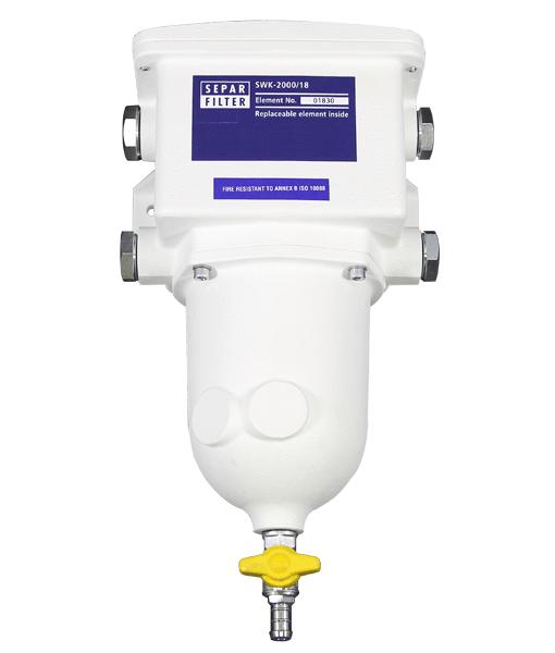 Separ Filter, SWK-2000-18 Single, Steel