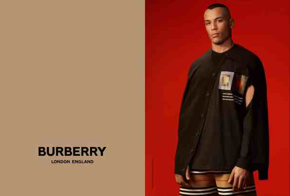 Darani photographed by Danko Steiner for Burberry c Courtesy of Burberry Danko Steiner