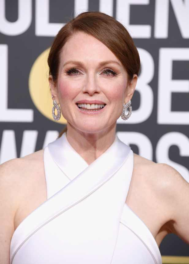 Julianne Moore attends the 76th Annual Golden Globe Awards at The Beverly Hilton Hotel on January 6, 2019 in Beverly Hills, California. (Photo by Steve Granitz/WireImage)