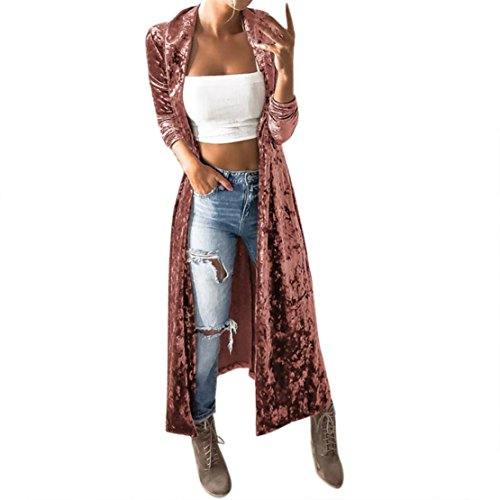 452e52ec67351 Mose Ladies Vest Womens Spring Velvet Sleeveless Cardigan Parka ...