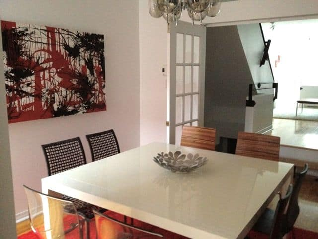 Large apartment in Plateau Mont Royal.