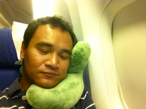 how to sleep well on a plane the