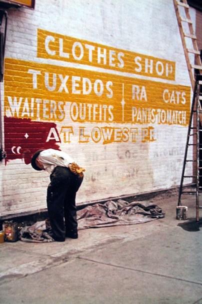 Sign Painter, 1954
