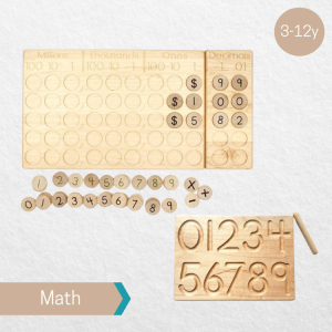 Treasures from Jennifer Place Value and Decimals Board