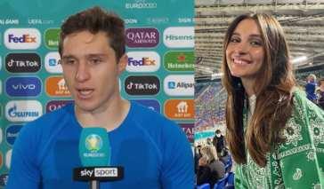 """Federico Chiesa trascina l'Italia ai quarti, la fidanzata: """"Ti meriti tutto"""" [FOTO]"""