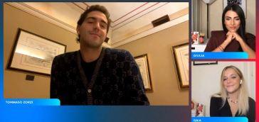 """Come si sono conosciuti Tommaso Zorzi e l'ex allievo di """"Amici""""?: """"L'ho visto nell'ufficio di Maria De Filippi e lei…"""" [VIDEO]"""
