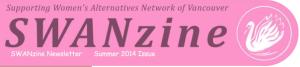 SWANNzine logo
