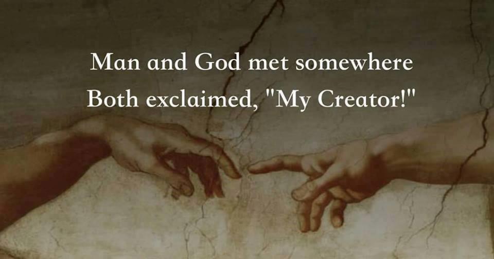 MAN& GOD